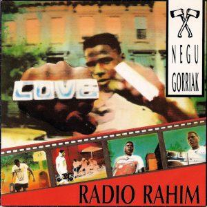 portada del disco Radio Rahim