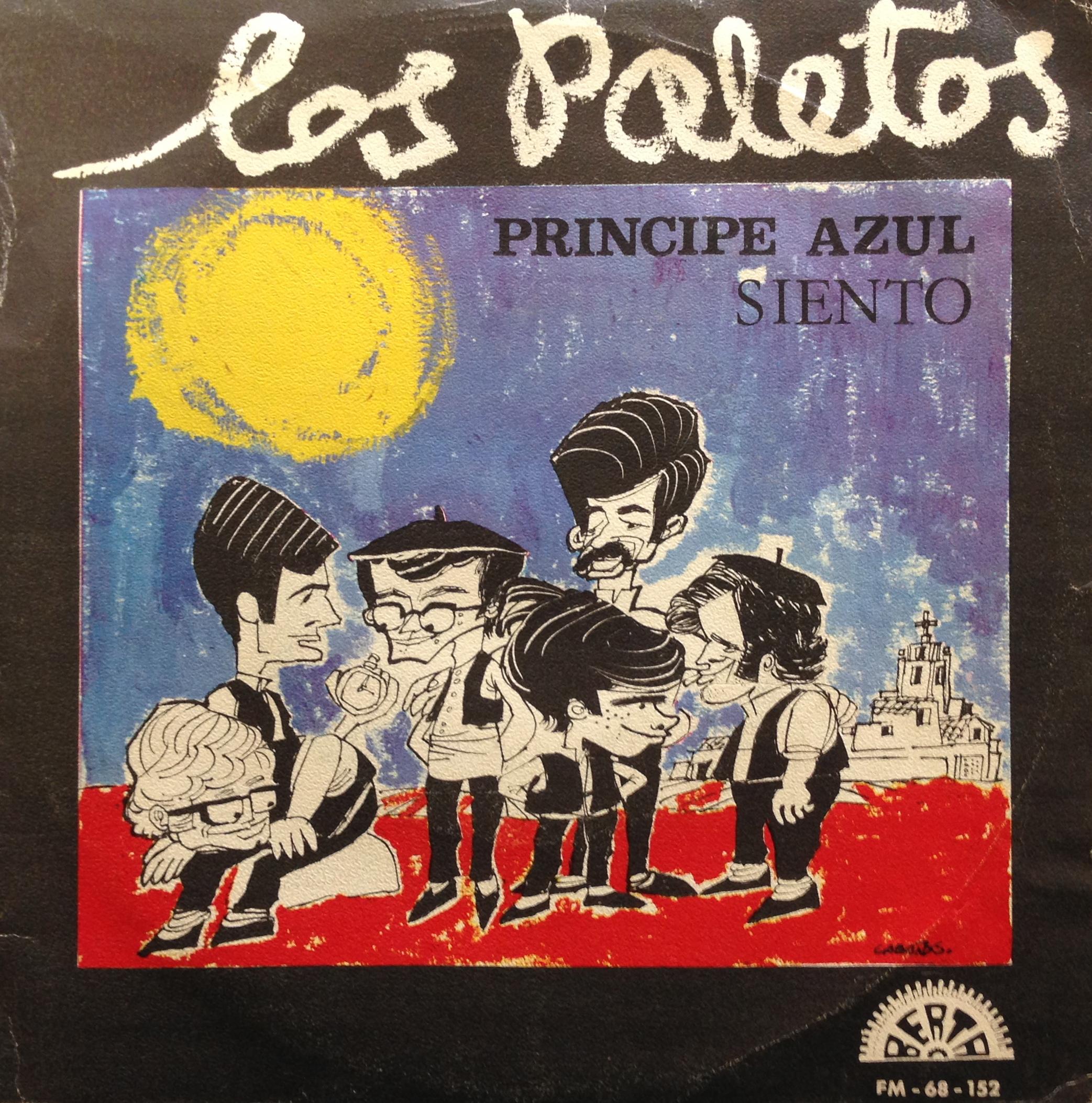portada del album Príncipe Azul / Siento