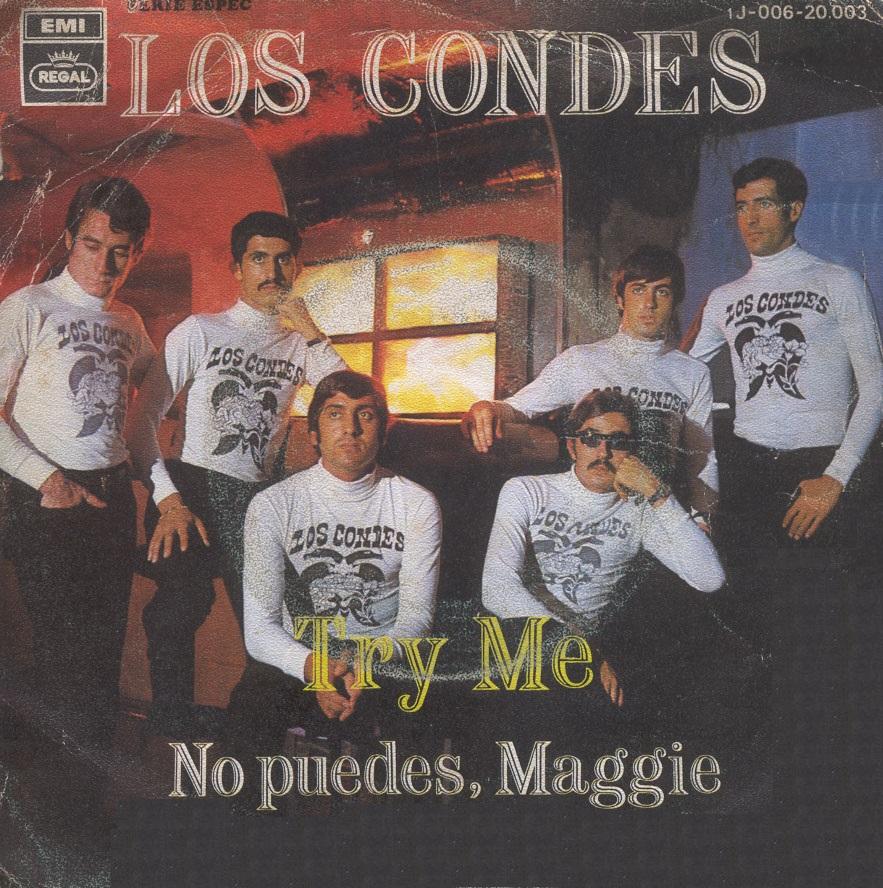 portada del album Try Me / No Puedes, Maggie