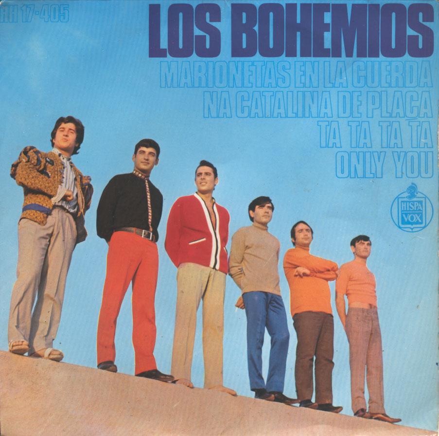 portada del album Marionetas en la Cuerda / Na Catalina de Plaça / Ta, Ta, Ta, Ta / Only You