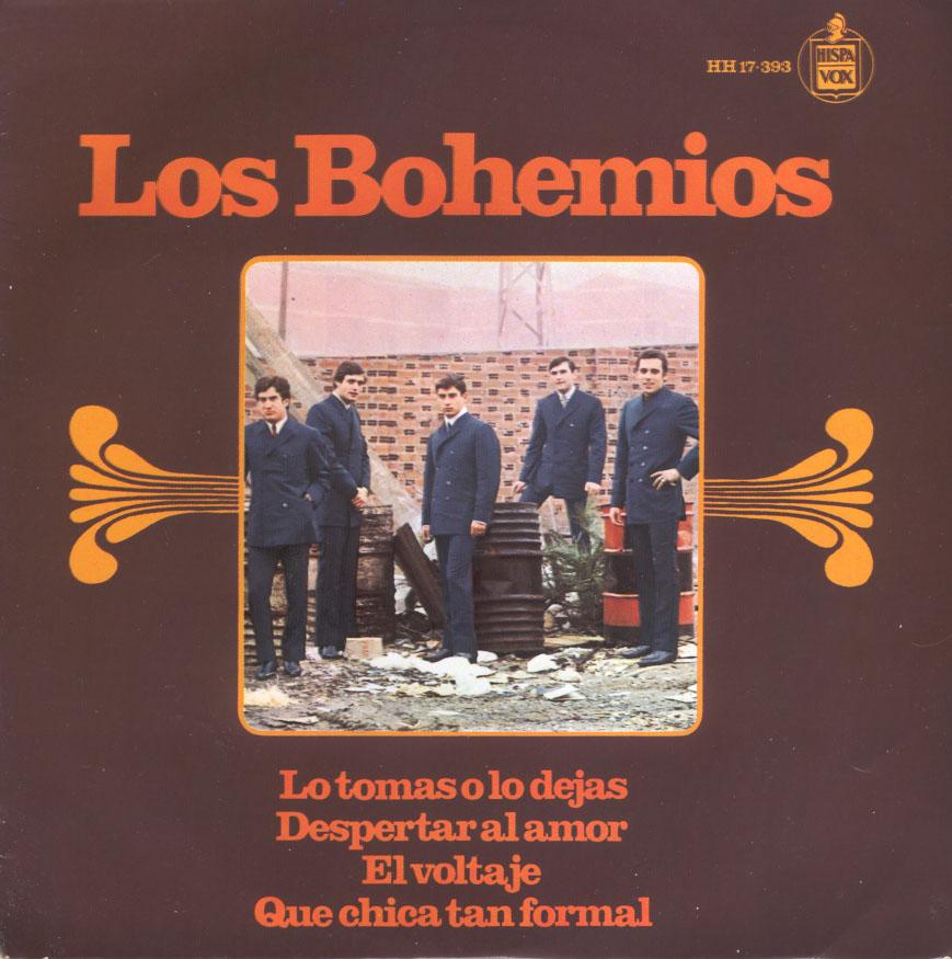 portada del album Lo Tomas o lo Dejas / Despertar al Amor / El Voltaje / Qué Chica Tan Formal