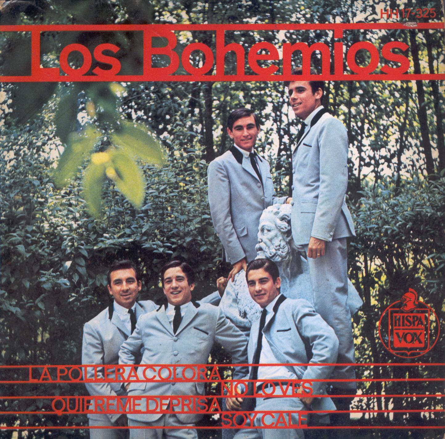 portada del album La Pollera Colorá / No Lo Ves / Quiéreme Deprisa / Soy Calé