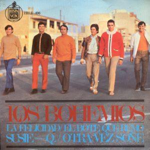 portada del disco La Felicidad / El Bote Que Remo / Susie Q / Otra Vez Soñé