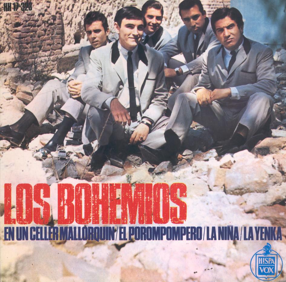 portada del album En un Celler Mallorquín / El Porompompero / La Niña / La Yenka