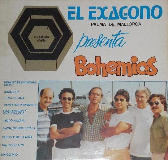 portada del album Bohemios