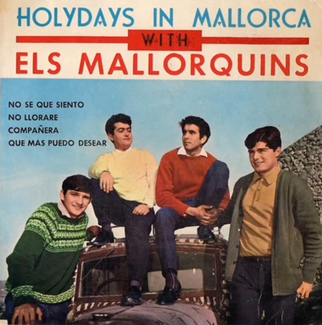 portada del album Holydays in Mallorca