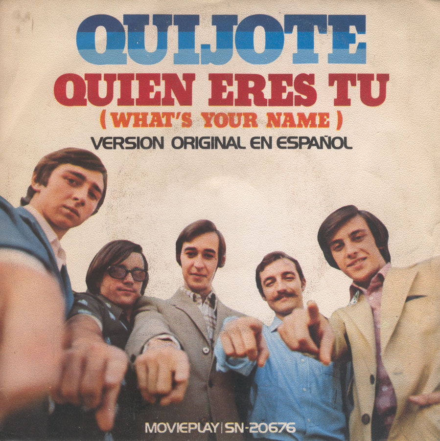 portada del album Quién Eres Tú (What's Your Name)