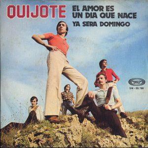 portada del disco El Amor Es un Día que Nace / Ya Será Domingo
