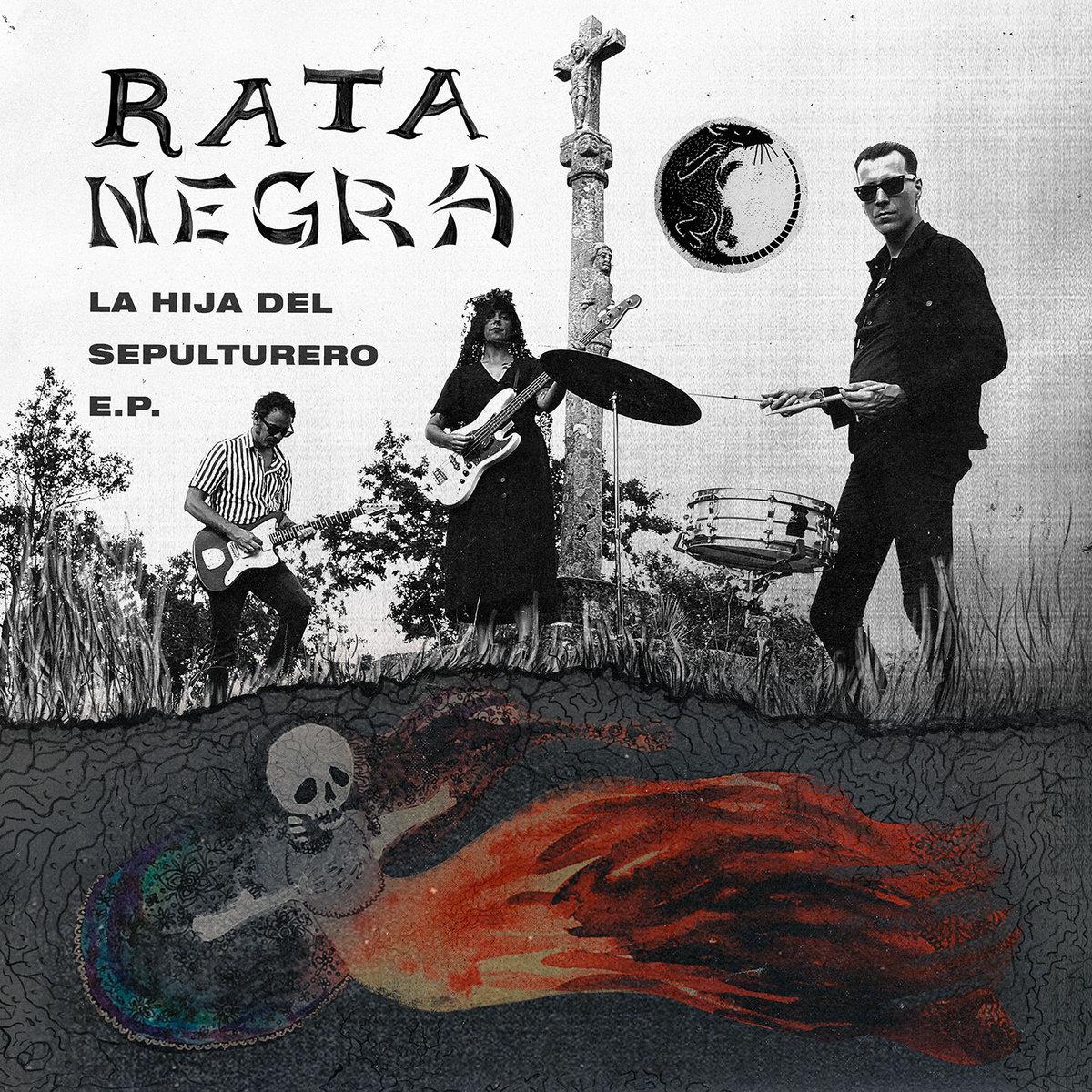portada del album La Hija del Sepulturero