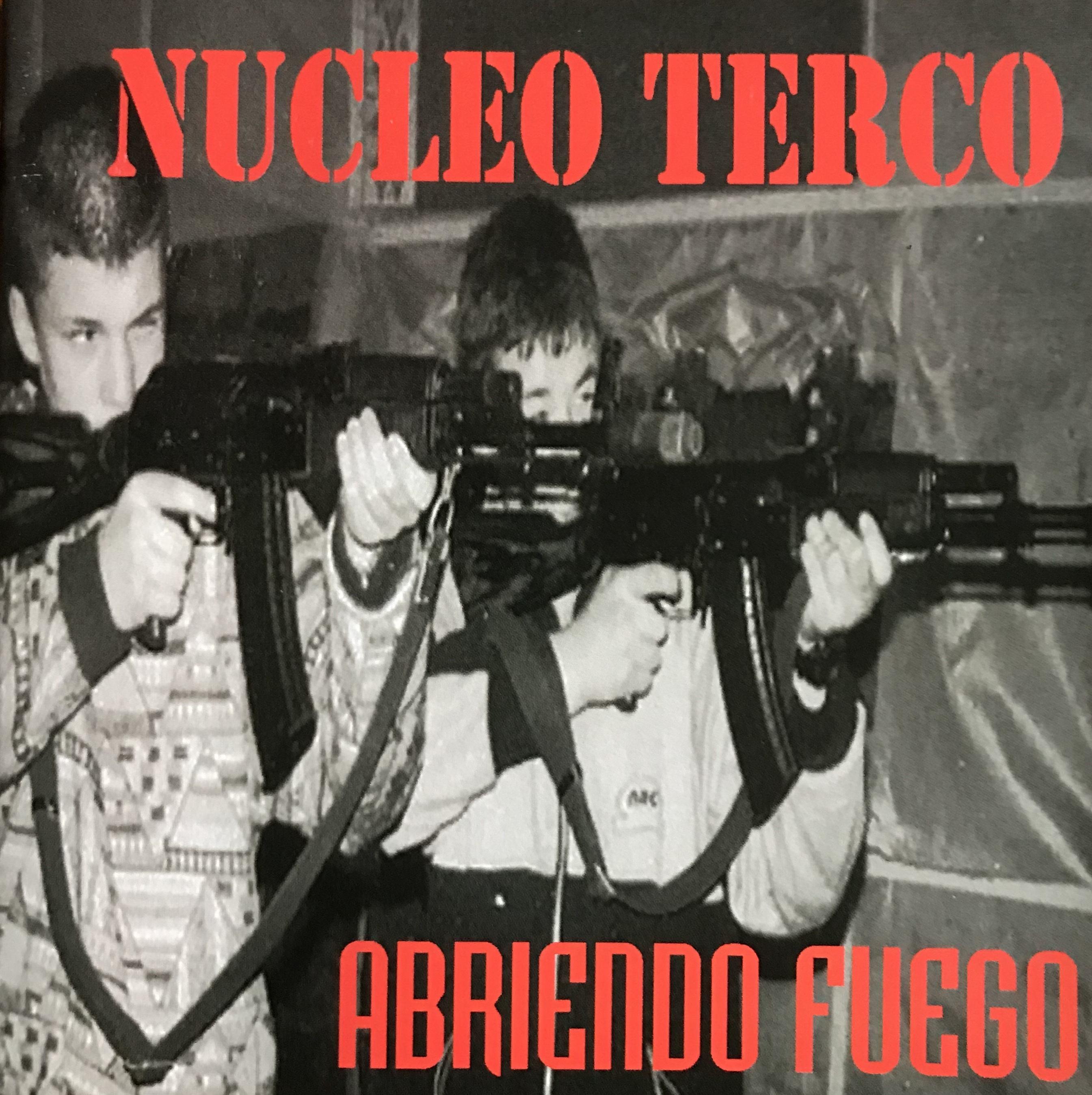 portada del album Abriendo Fuego