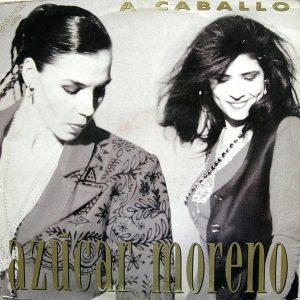 portada del disco A Caballo