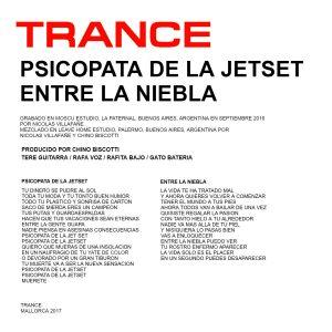 portada del disco Psicópata de la Jet Set