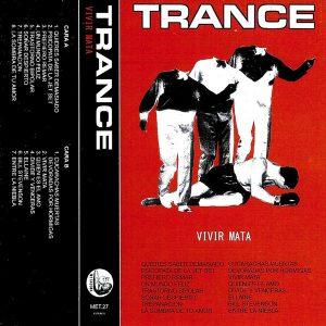 portada del disco Vivir Mata (Cinta)