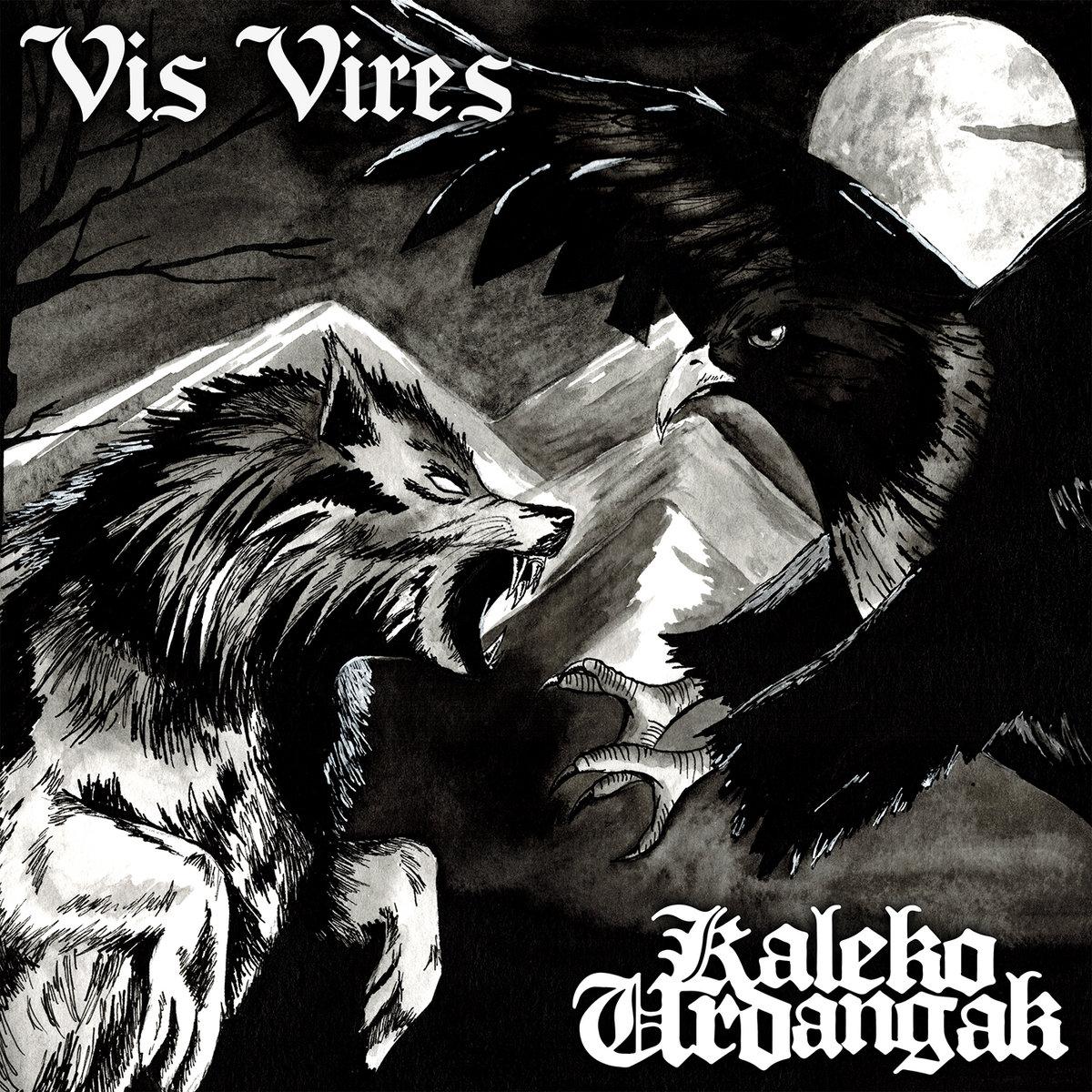 portada del album Vis Vires / Kaleko Urdangak