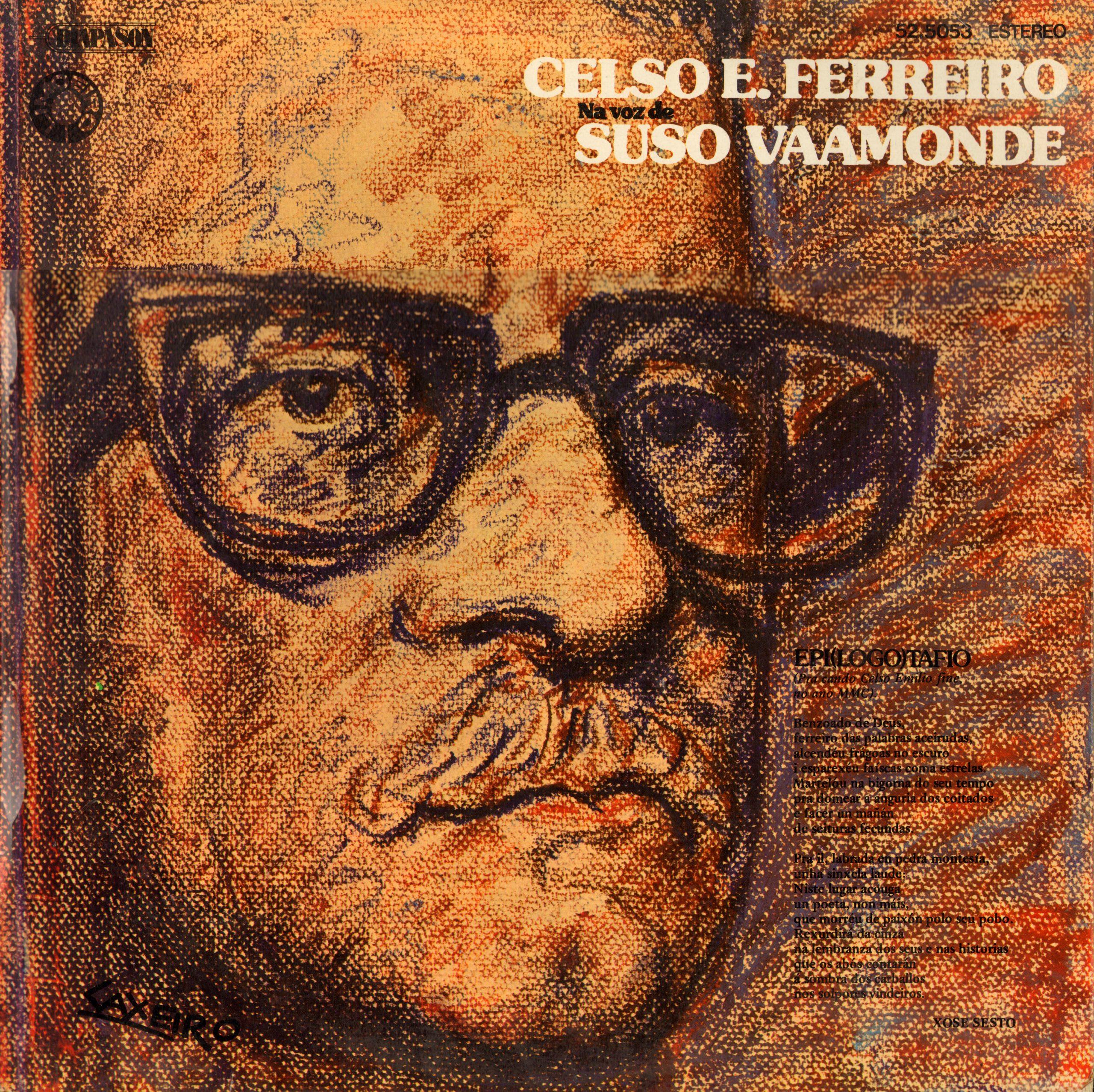 portada del album Celso Emilio Ferreiro na Voz de Suso Vaamonde