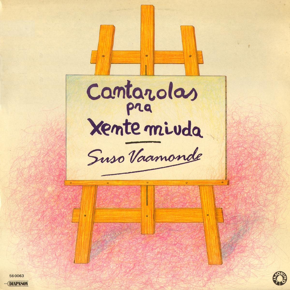 portada del album Cantarolas pra Xente Miúda