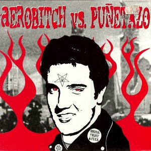 portada del disco Aerobitch vs. Puñetazo: 13 Steps to Hell