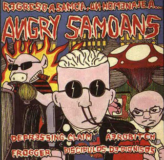 portada del album Regreso a Samoa, un Homenaje a Angry Samoans