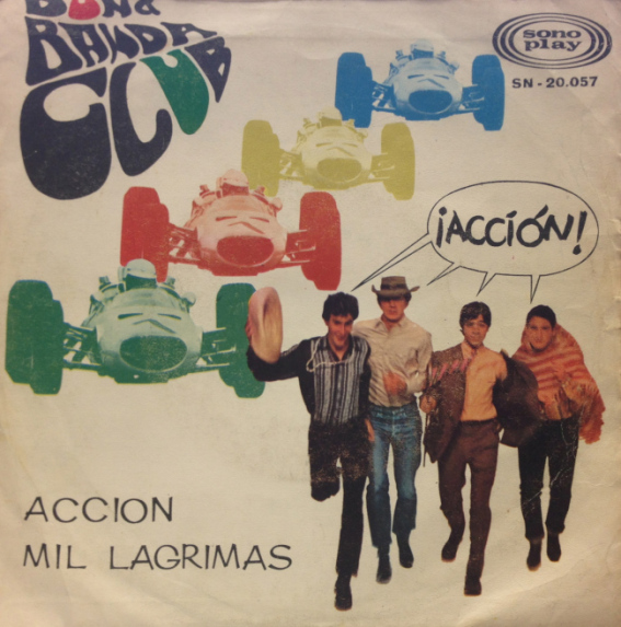 portada del album Acción / Mil Lágrimas