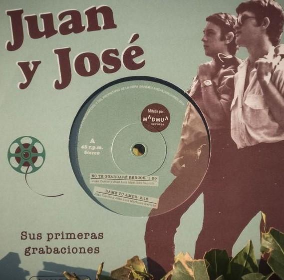 portada del album Juan y José. Sus Primeras Grabaciones