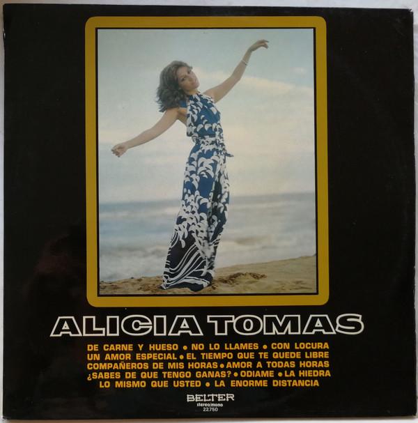 portada del album Alicia Tomás