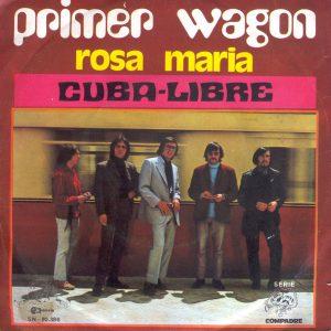 portada del disco Rosa María / Cuba-Libre