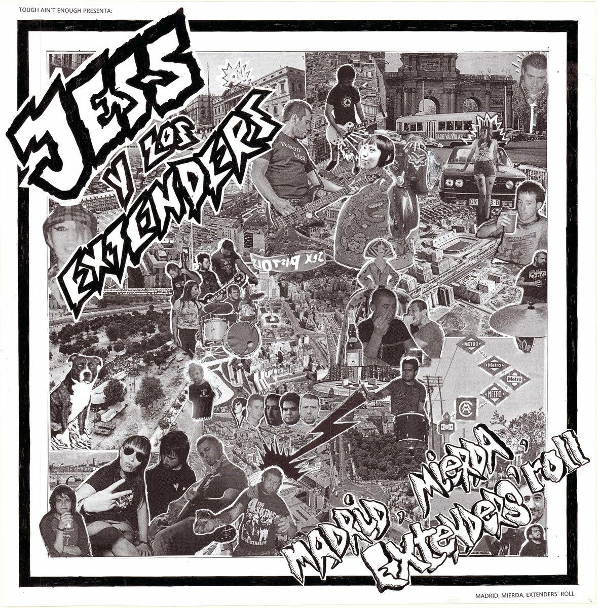 portada del album Madrid, Mierda, Extenders' Roll