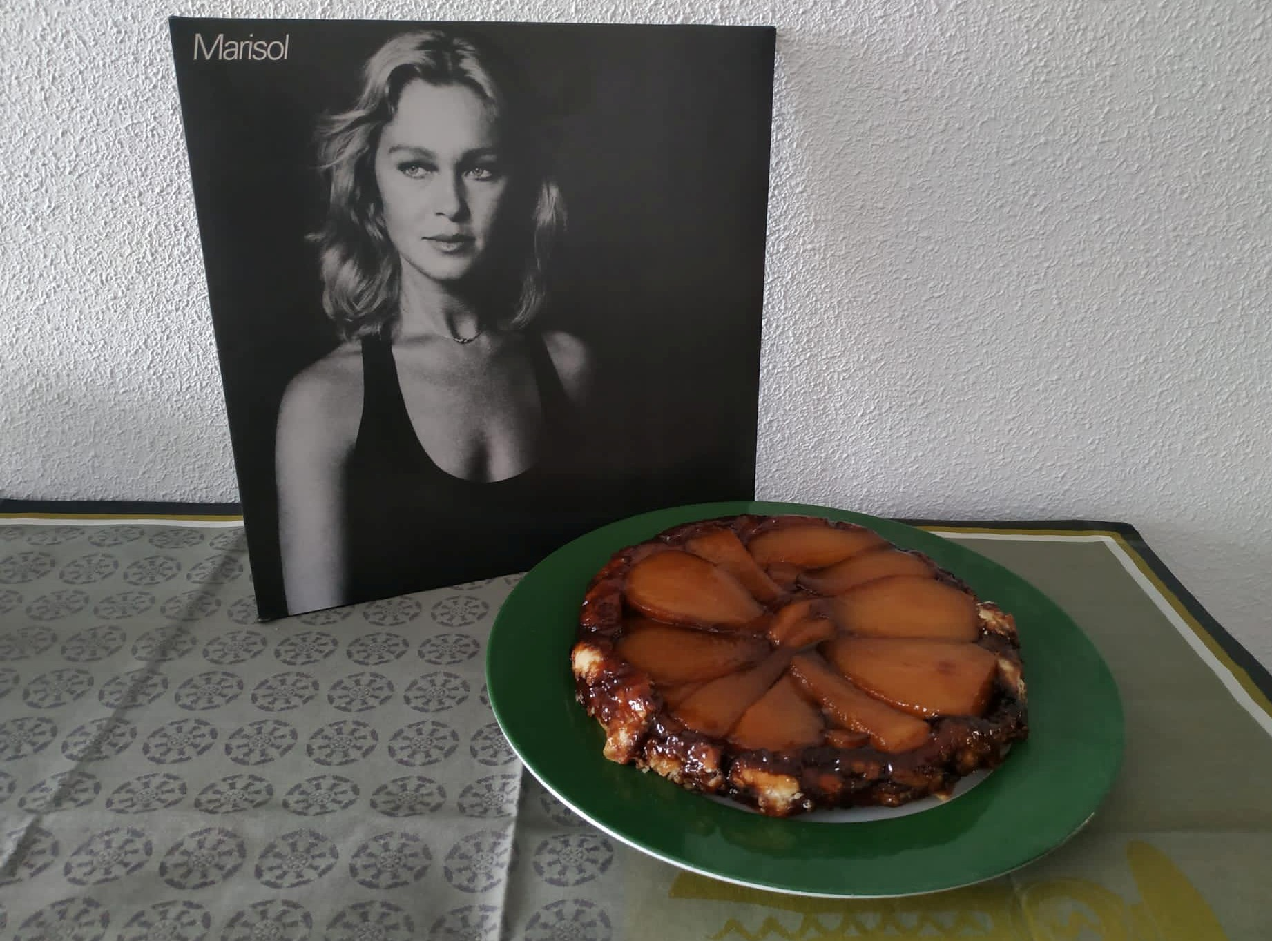 Tatin de peras / Marisol